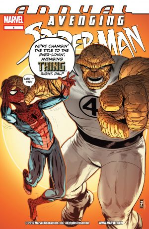 Avenging Spider-Man (2011) - Annual