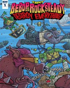 Teenage Mutant Ninja Turtles Bebop & Rocksteady Destroy Everything
