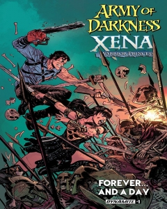 Army Of Darkness Xena Warrior Princess Forever...And A Day