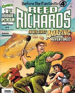 Before the FF: Reed Richards